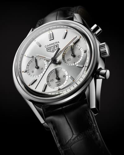 TAG Heuer Carrera 160 Years Silver Limited Edition: Great anniversary gift to the fans.