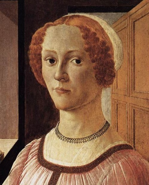 Portrait of a Lady Boticceli