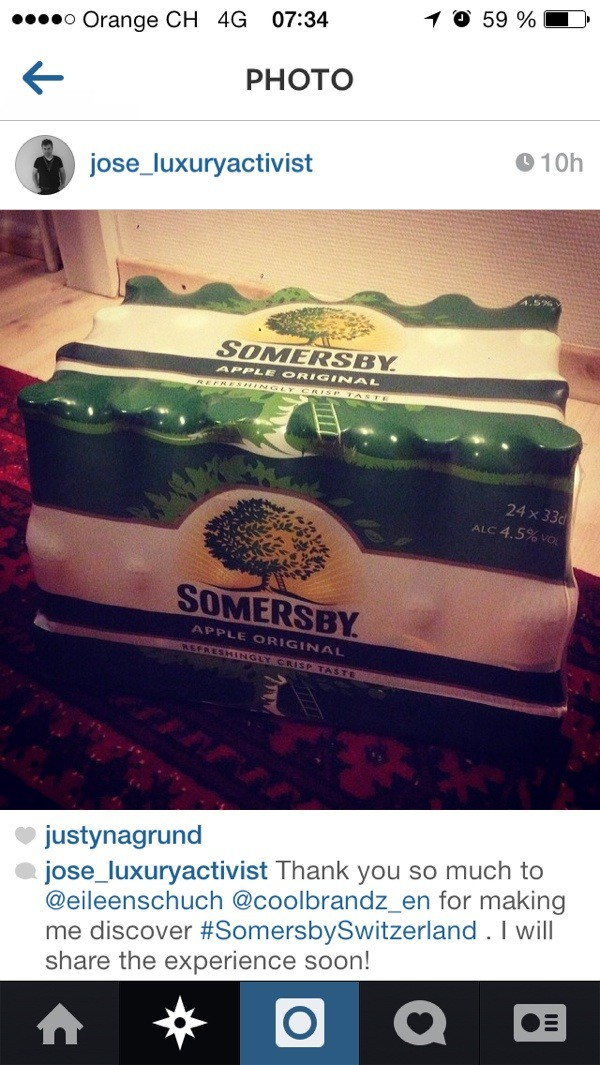 Somersby in Heidi land