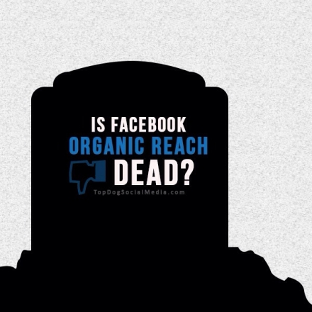 RIP Facebook organic reach, the cheap days are over.