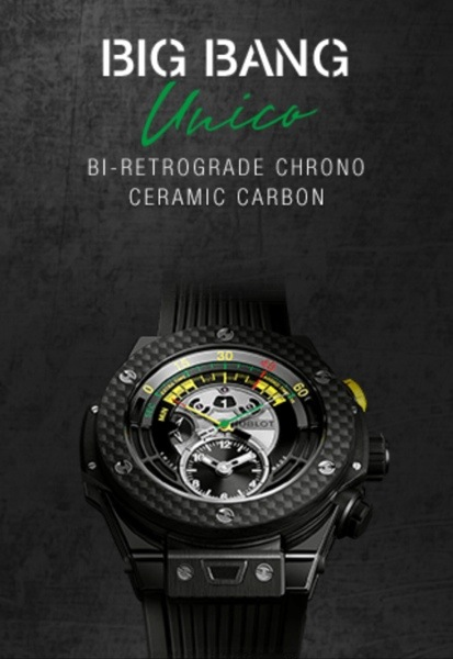 Hublot Big Bang Unico Black ceramic
