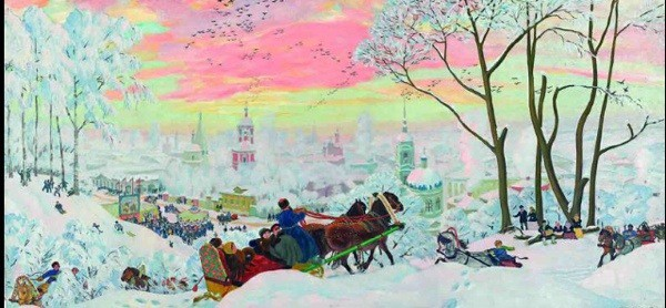 Russian Landscape art exhibition