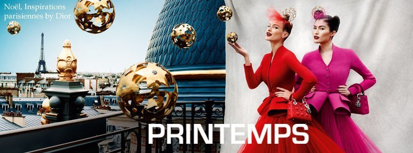 Le Printemps Paris – Dior for Christmas
