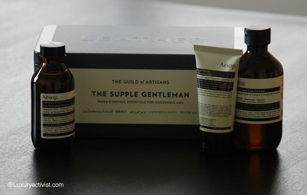 Aesop new Giftsets for the Holiday Season. Inspired by the Guild of Artisans.