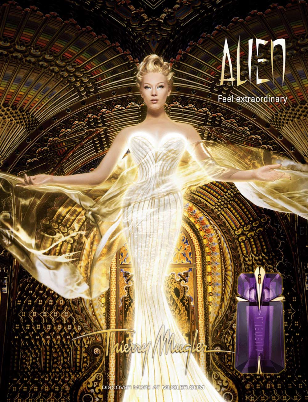 Alien by Thierry Mugler, 10 years already, Flashback!