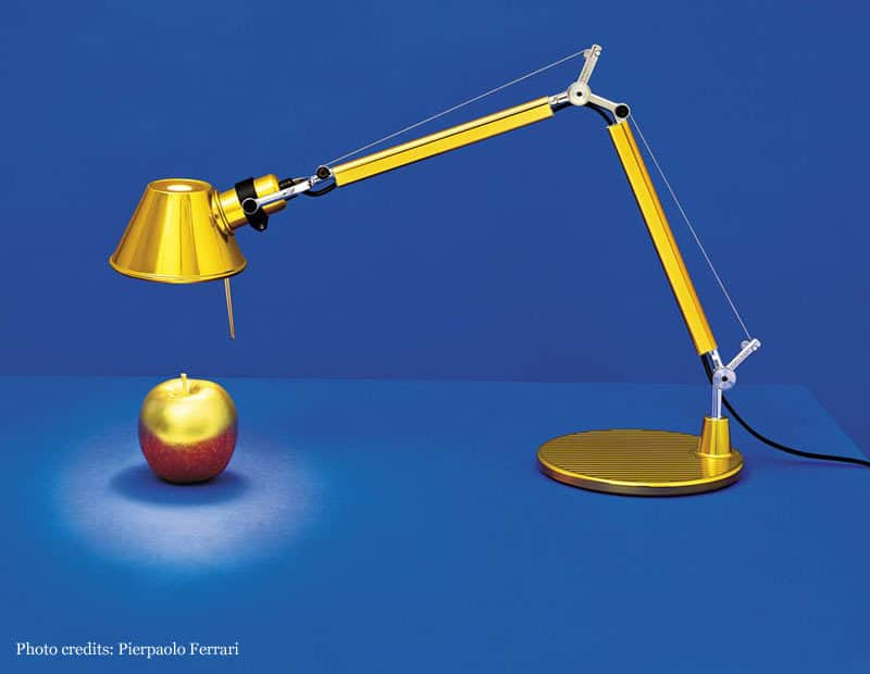 Artemide-Lamp-gold