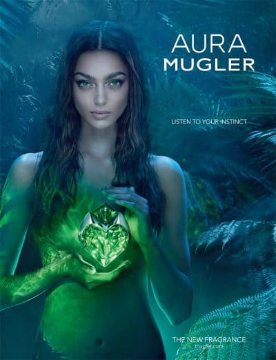 Aura Mugler… only Mugler would dare. Full Review.