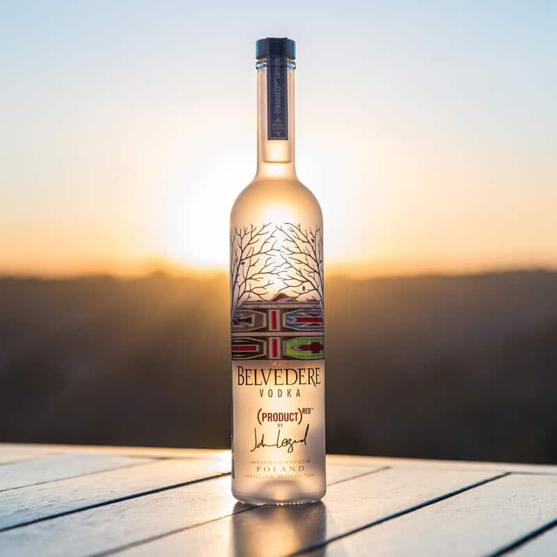 (BELVEDERE)RED-BOTTLE-AT-SUNSET