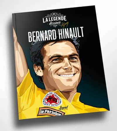Bernard Hinault, the legend – now in a Book of Art – Exclusive!