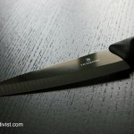 Victorinox Black Ceramic knife, black is beautiful.
