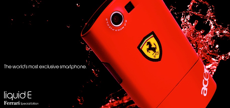 ferrari E liquid phone