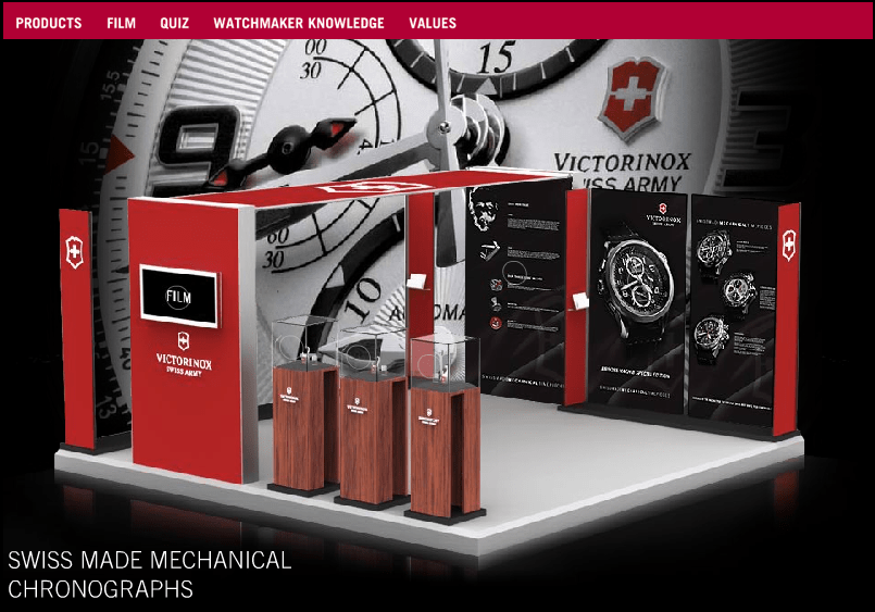 Victorinox Swiss Army Timepieces Virtual Showroom