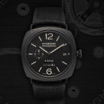Panerai: Black is the new… black.