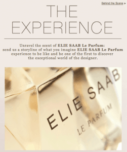 elie saab facebook fan page
