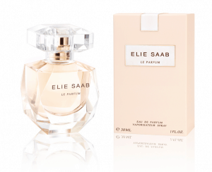 elie saab fragrance flacon and packaging