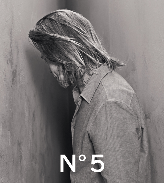 Brad Pitt for Chanel 5, first images