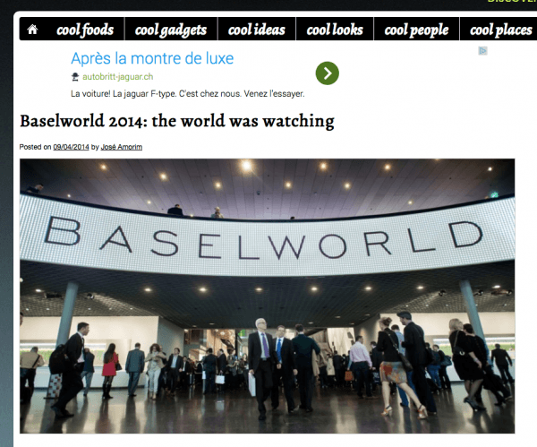 Baselworld by Coolbrandz