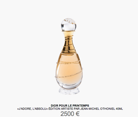 J'adore Dior limited edition