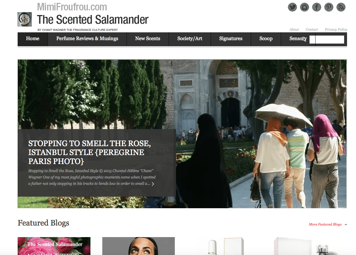 Chantal Helene Wagner for The Scented Salamander