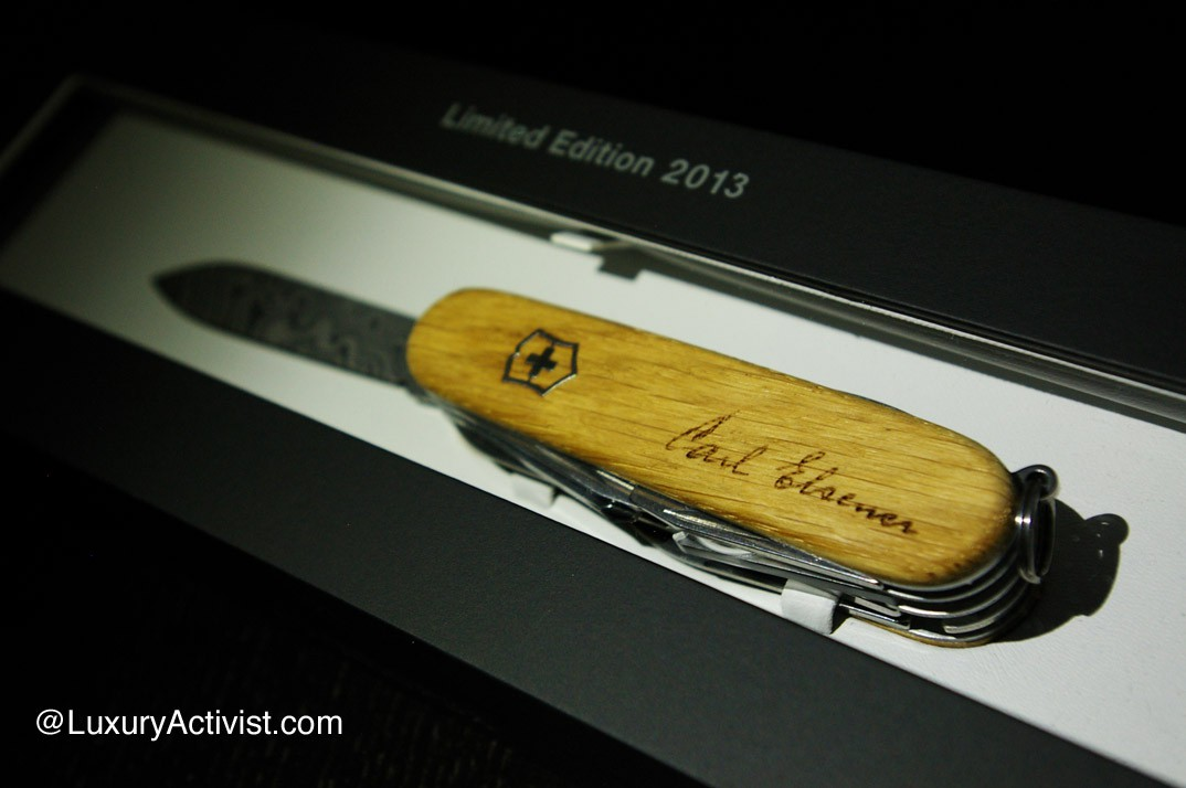 Victorinox Explorer Damast Limited Edition 2013 Luxury