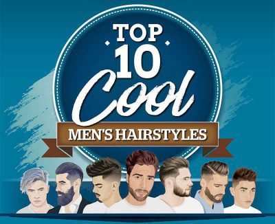 Cool, New Hairstyles For Guys To Try in 2017 [Infographics]