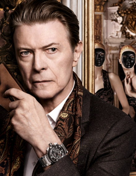 David Bowie for Vuitton, just class.