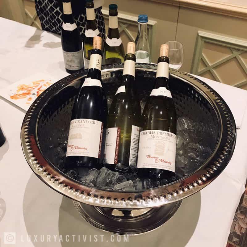 Domaine-des-Malandes-premier-cru-vieilles-vignes-tasting