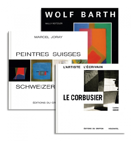 Les Editions du Griffon, Swiss Publishing house for beautiful art books.