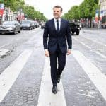 Emmanuel Macron: en Marche but with the right shoes!