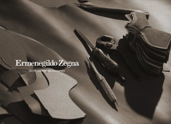 Ermenegildo Zegna SS14 Leather accessories – elegant of course.
