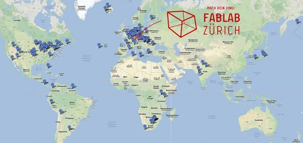 Fab-Lab-worldmap