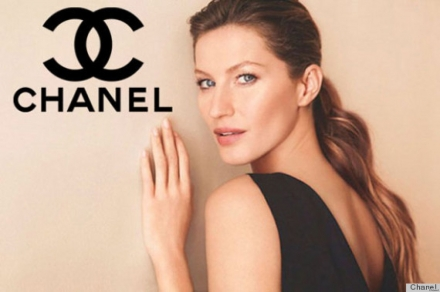 Gisele Bundchen is the new face of Chanel 5