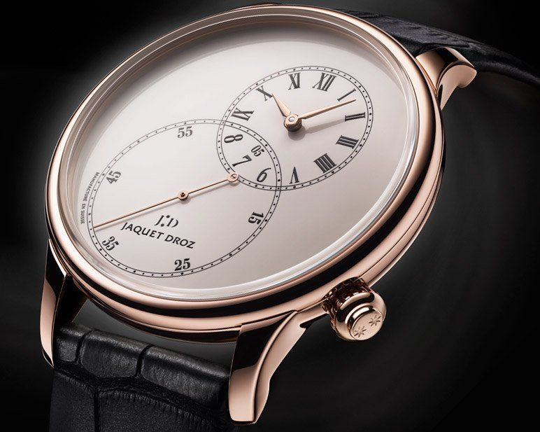 The Grande Seconde Off-centered by Jaquet Droz