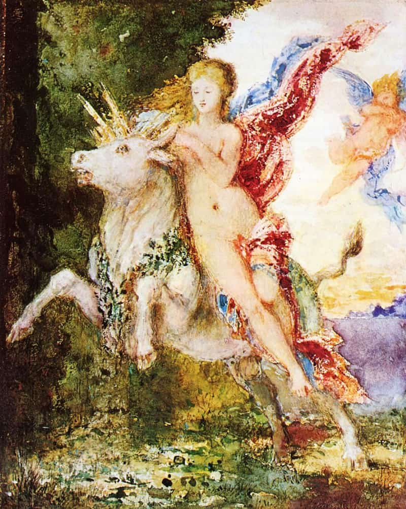 Gustave-Moreau-The-Bull-and-Europa