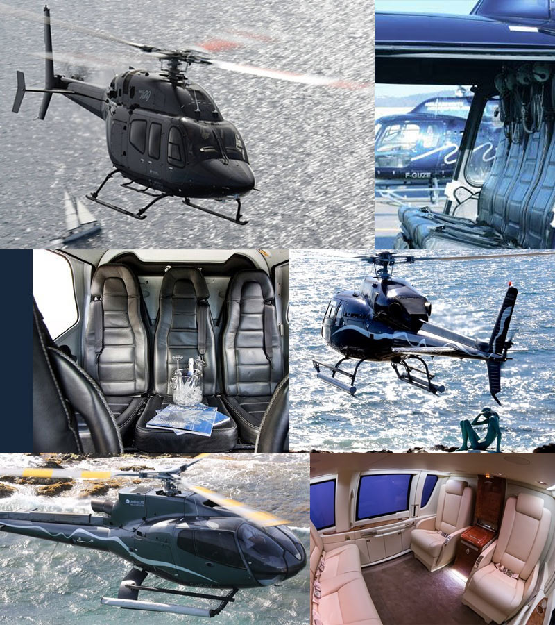 Helicopter Transfer for Summer Events on the Cote d'Azur in 2016