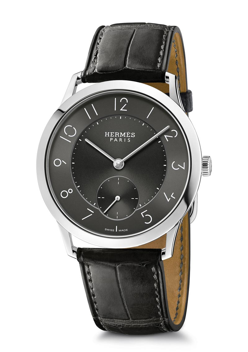 Slim d'Hermès Manufacture 2016, purity in motion.