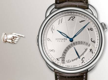 Baselworld 2013: Arceau, Le Temps Suspendu by Hermès.