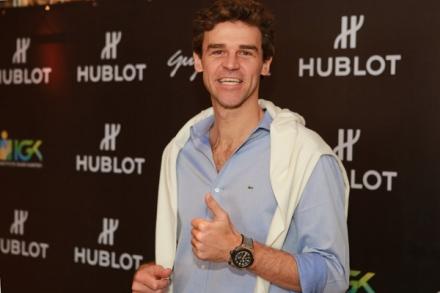 Hublot new ambassador: Guga Kuerten, brazilian tennis star.