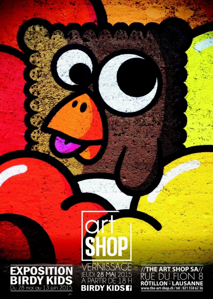 Birdy Kids at ArtShop Lausanne – Must see!