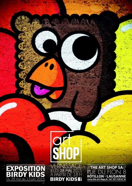 Birdy Kids at ArtShop Lausanne – Must see!