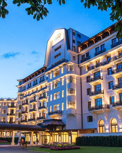 Hotel Royal – Evian Resort reopening!