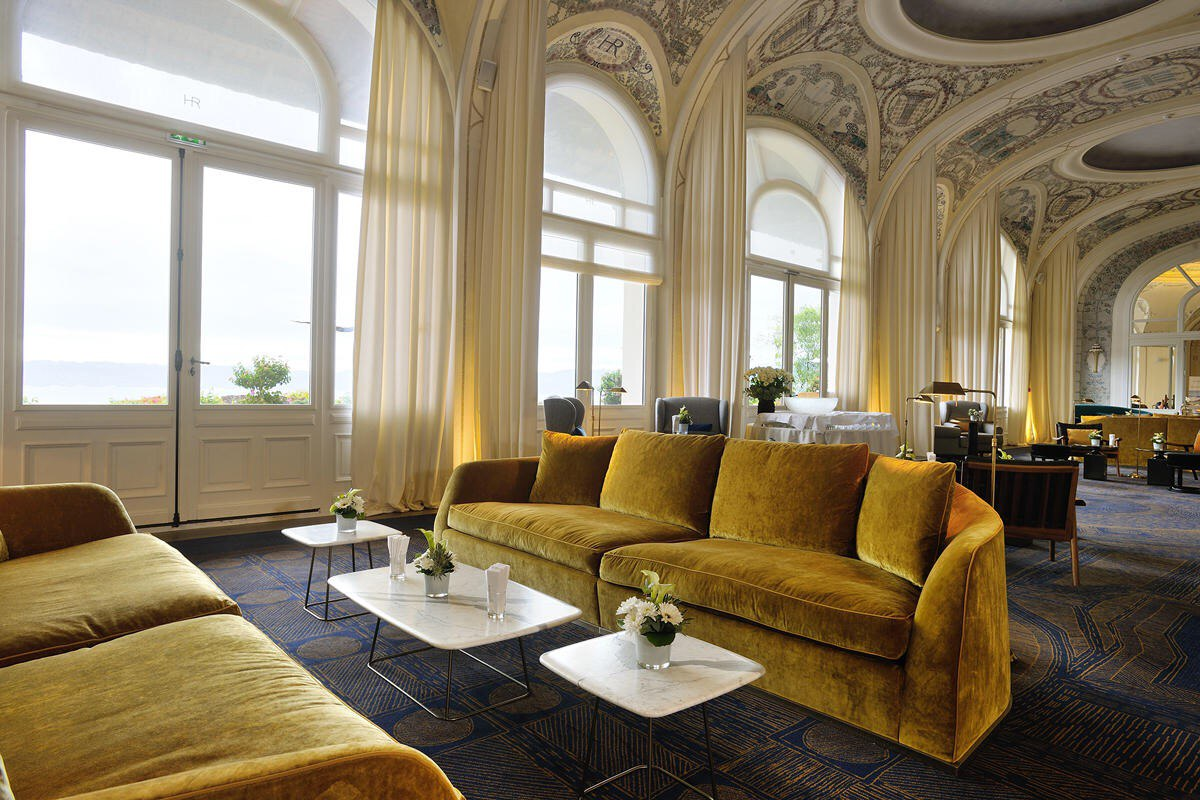 Hotel Royal Evian ambience photo