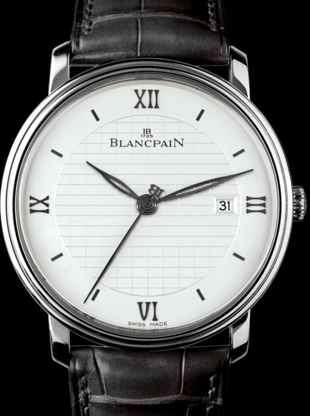 Blancpain Villeret Ultraplate, essential luxury in 3.37mm.