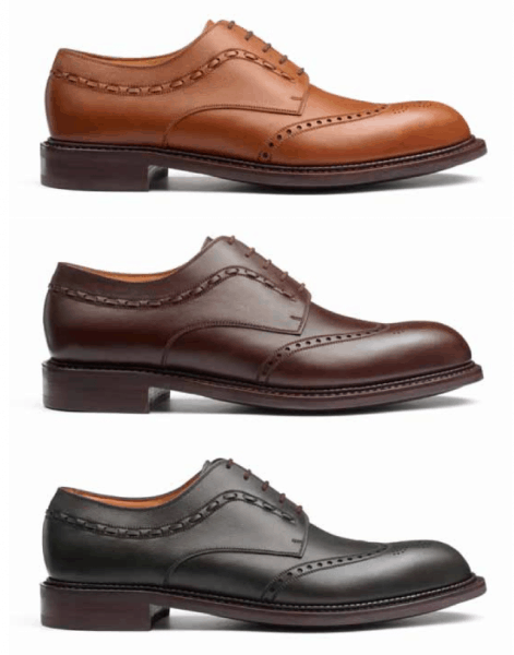 JM Weston Country Gents collection board 2