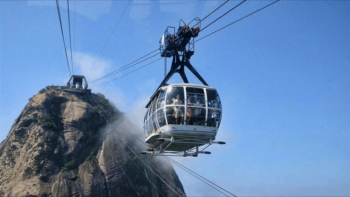 Sugar Loaf Cable car