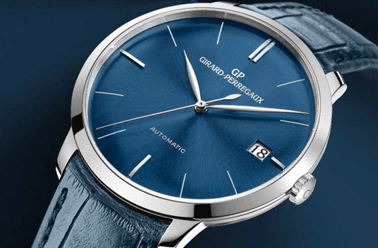 Girard Perregaux The Blue Hour. Understated and refined style.