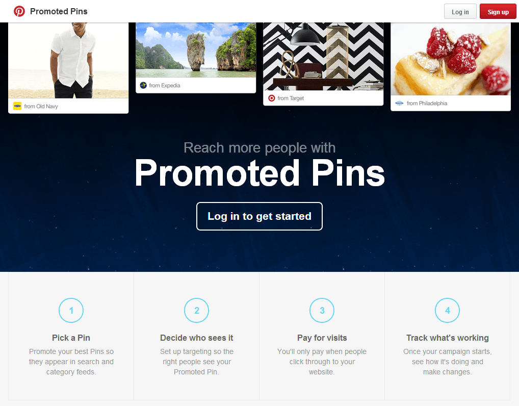 Pinterest Promoted Pins, at last!