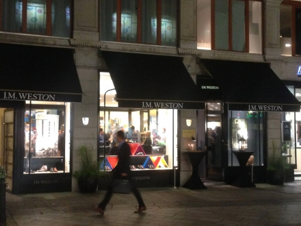 J.M. Weston store re-opening in Geneva. Absolute elegance