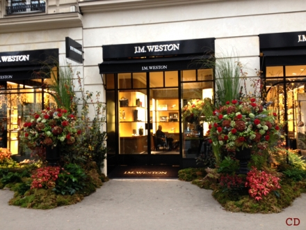 JM Weston reopens the Brand store in Paris, La Madeleine.
