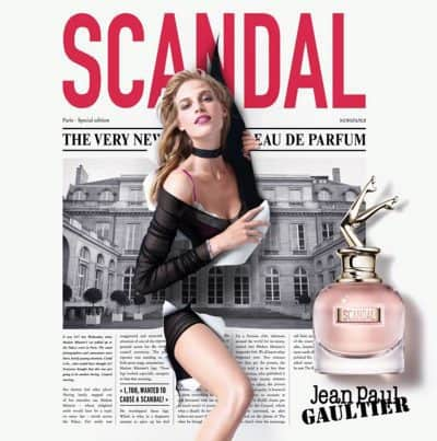 Jean-Paul Gaultier Scandal? Not really.